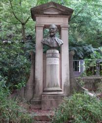 Monument à Jules Coste-Labaume, jardin Croix Paquet, Lyon, 1er arrondissement