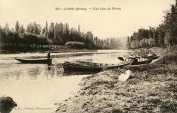 Loire (Rhône). - Une lône du Rhône
