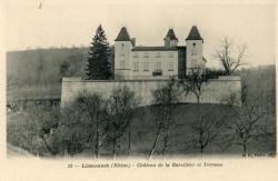 Limonest (Rhône). - Château de la Barollière et Terrasse
