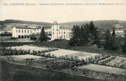 Limonest (Rhône). - Château de Sandar, actuellement institution Michel-Paul Perret
