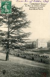 Limonest (Rhône). - Le Parc du Château Sandar. - Institution agricole Paul-Michel Perret
