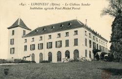 Limonest (Rhône). - Le Château Sandar. Institution agricole Paul-Michel Perret