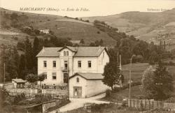 Marchampt (Rhône). - Ecole de filles