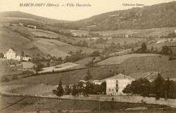Marchampt (Rhône). - Villa Durnerin