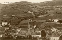 Marchampt (Rhône). - Vue générale