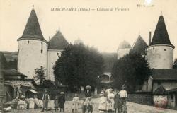 Marchampt (Rhône). - Château de Varennes