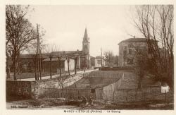Marcy-l'Etoile (Rhône). - Le bourg