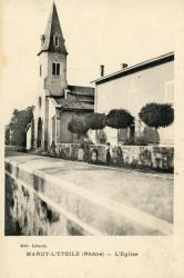 Marcy-l'Etoile (Rhône). - L'Eglise
