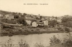 Lozanne (Rhône). - Vue générale