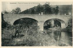 Lozanne (Rhône). - Pont de Dorieux sur la Brévenne