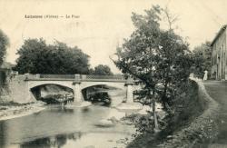 Lozanne (Rhône). - Le Pont