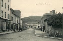 Lozanne (Rhône). - Rue de lyon