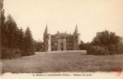 Marcilly d'Azergues (Rhône). - Château de Janzé