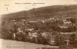 Marcilly d'Azergues (Rhône). - Vue panoramique