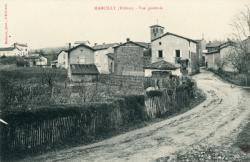 Marcilly (Rhône). - Vue générale