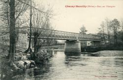 Chazay-Marcilly (Rhône). - Pont de l'Azergues