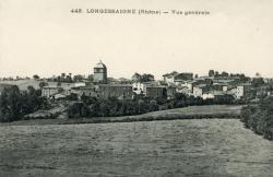 Longessaigne (Rhône). - Vue générale