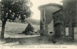 Longessaigne (Rhône). - Le Canet, gentilhommière du XVe siècle