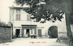 Marsy-sur-Anse (Rhône). - La Place
