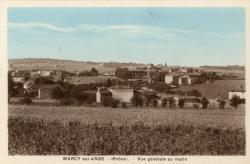 Marcy-sur-Anse (Rhône). - Vue générale au matin