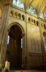 Choeur, mur nord, cathédrale Saint-Jean-Baptiste, Lyon 5e