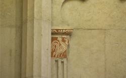 Choeur, chapiteau, cathédrale Saint-Jean-Baptiste, Lyon 5e