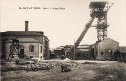 La Grand-Croix (Loire) : Puits Gilliet