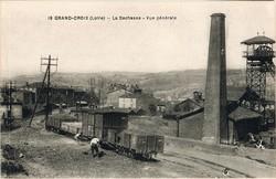 La Grand-Croix (Loire) : Vue générale