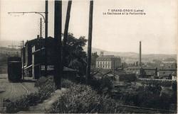 La Grand-Croix (Loire) : La Bachasse et la Peronnière