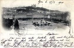 Lyon : Panorama de la Place Bellecour
