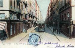 Lyon. - La rue Victor Hugo