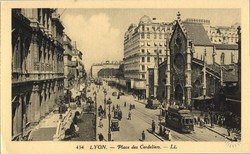Lyon : Place des Cordeliers