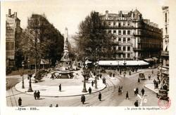 Lyon : La Place de la République