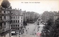 Lyon : Rue de la République