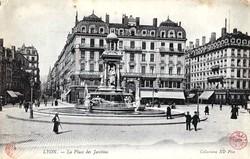 Lyon : La Place des Jacobins