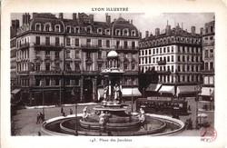 Lyon Illustré : Place des Jacobins