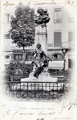 Lyon : Monument de J. Soulary