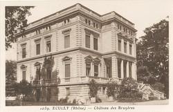Ecully (Rhône) : Château des Bruyères