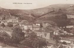 Dième (Rhône) : Vue générale