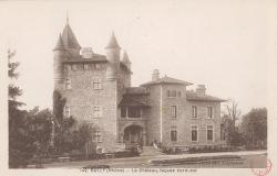 Bully (Rhône) : Le château, façade nord-est