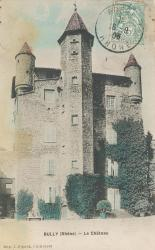 Bully (Rhône) : Le château