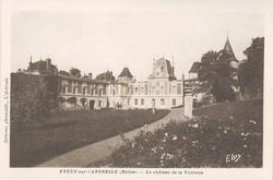 Eveux (Rhône) : Le château de la Tourette