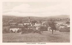 Eveux (Rhône) : Vue générale