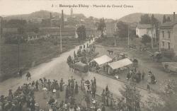 Bourg-de-Thizy (Rhône) : Marché du Grand Creux