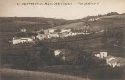 La Chapelle-de-Mardore (Rhône) : Vue générale n°1
