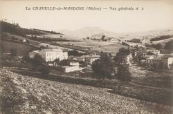 La Chapelle-de-Mardore (Rhône) : Vue générale n°2