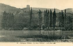 Albigny-sur-Saône (Rhône) : Le vieux château