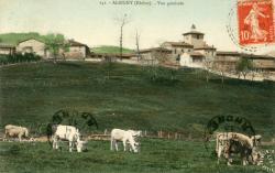 Albigny-sur-Saône (Rhône) : Vue générale