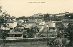 Curis-au-Mont-d'Or (Rhône) : Vue générale