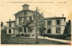 Couzon-au-Mont-d'Or (Rhône) : La nouvelle Mairie et les écoles